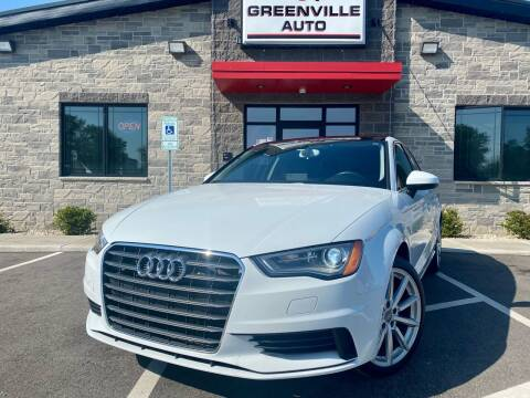 2015 Audi A3 for sale at GREENVILLE AUTO in Greenville WI