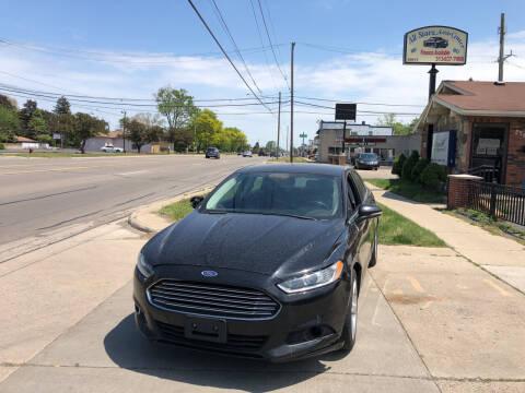2016 Ford Fusion for sale at All Starz Auto Center Inc in Redford MI