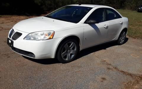 2008 Pontiac G6 for sale at Mathews Used Cars, Inc. in Crawford GA
