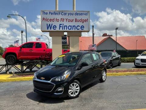 2021 Chevrolet Spark for sale at American Financial Cars in Orlando FL