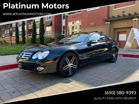 2007 Mercedes-Benz SL-Class for sale at Platinum Motors in San Bruno CA