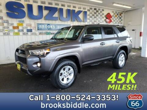 2016 Toyota 4Runner for sale at BROOKS BIDDLE AUTOMOTIVE in Bothell WA