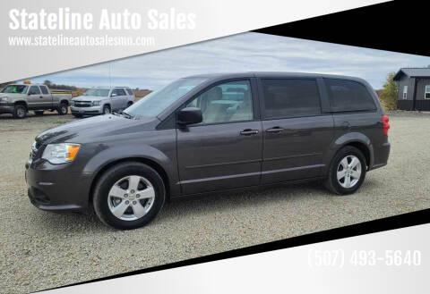 2016 Dodge Grand Caravan for sale at Stateline Auto Sales in Mabel MN