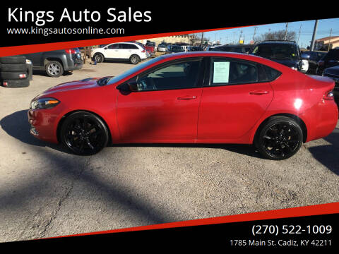2016 Dodge Dart for sale at Kings Auto Sales in Cadiz KY
