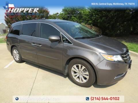 2016 Honda Odyssey for sale at HOPPER MOTORPLEX in Mckinney TX