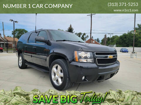 2013 Chevrolet Suburban for sale at NUMBER 1 CAR COMPANY in Detroit MI