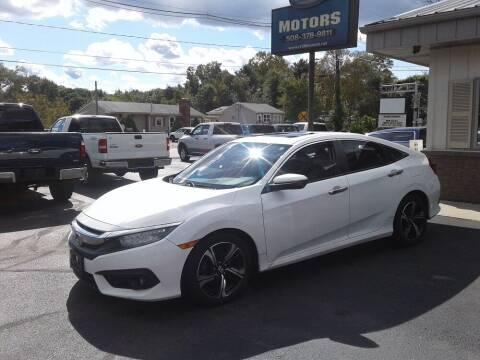 2016 Honda Civic for sale at Route 106 Motors in East Bridgewater MA