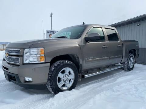 2012 Chevrolet Silverado 1500 for sale at FAST LANE AUTOS in Spearfish SD