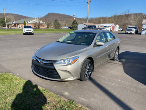 2015 Toyota Camry for sale at Greens Auto Mart Inc. in Wysox PA