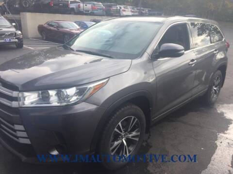 2017 Toyota Highlander for sale at J & M Automotive in Naugatuck CT
