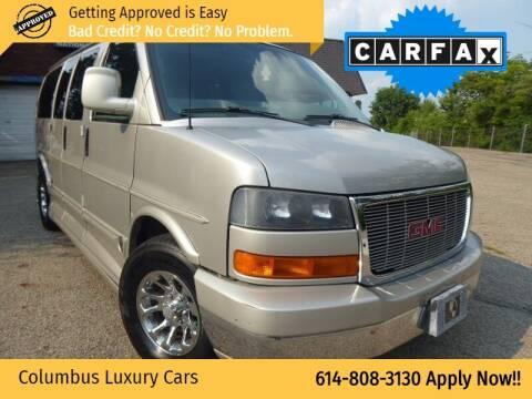 2007 GMC Savana Cargo for sale at Columbus Luxury Cars in Columbus OH