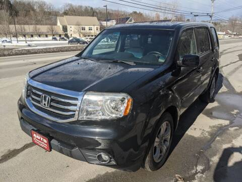 2012 Honda Pilot for sale at AUTO CONNECTION LLC in Springfield VT