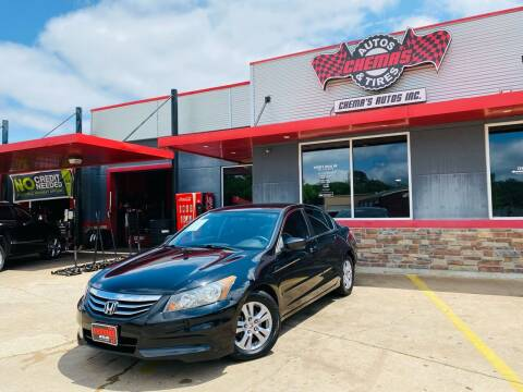 2011 Honda Accord for sale at Chema's Autos & Tires in Tyler TX