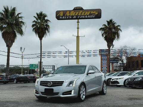 2013 Cadillac ATS for sale at A MOTORS SALES AND FINANCE - 5630 San Pedro Ave in San Antonio TX