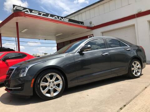 2016 Cadillac ATS for sale at FAST LANE AUTO SALES in San Antonio TX