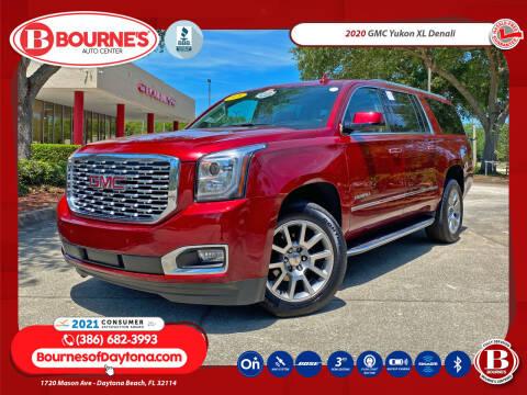 2020 GMC Yukon XL for sale at Bourne's Auto Center in Daytona Beach FL