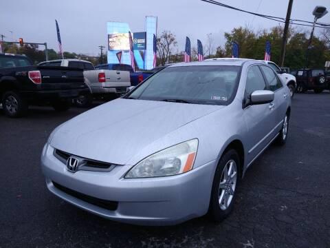 2004 Honda Accord for sale at P J McCafferty Inc in Langhorne PA