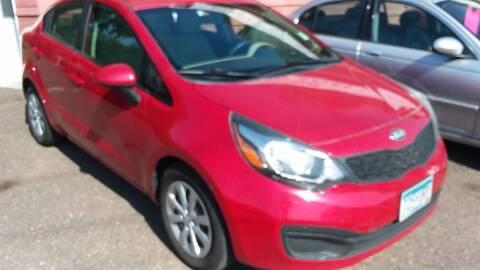 2013 Kia Rio for sale at Sunrise Auto Sales in Stacy MN