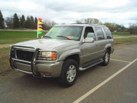 2000 Cadillac Escalade for sale at Dales Auto Sales in Hutchinson MN
