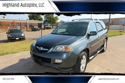 2005 Acura MDX for sale at Highland Autoplex, LLC in Dallas TX