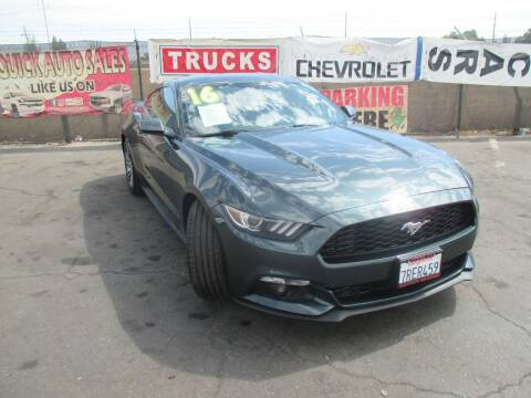 2016 Ford Mustang for sale at Quick Auto Sales in Modesto CA