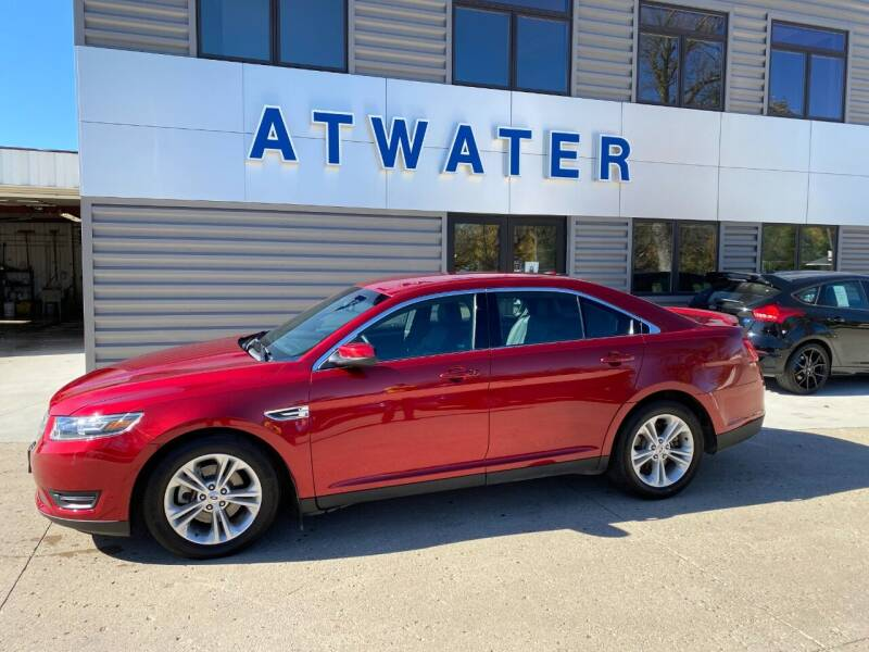 2016 Ford Taurus for sale at Atwater Ford Inc in Atwater MN