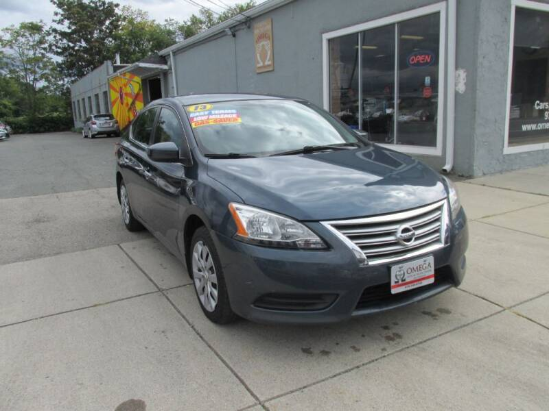 2013 Nissan Sentra for sale at Omega Auto & Truck Center, Inc. in Salem MA