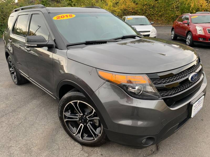 2015 Ford Explorer for sale at Bob Karl's Sales & Service in Troy NY