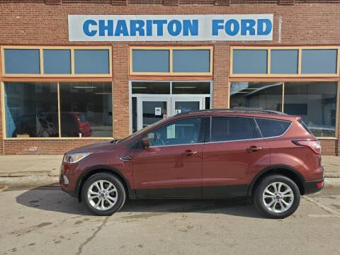 2018 Ford Escape for sale at Chariton Ford in Chariton IA