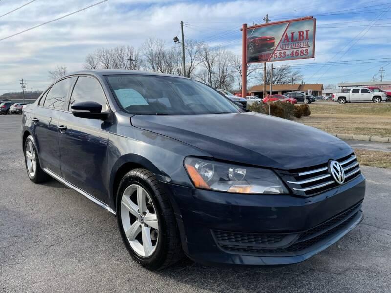 2013 Volkswagen Passat for sale at Albi Auto Sales LLC in Louisville KY