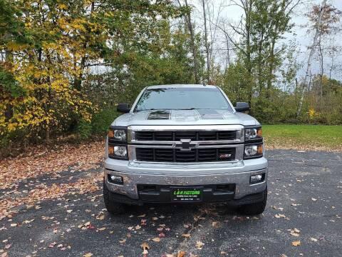 2014 Chevrolet Silverado 1500 for sale at L & R Motors in Greene ME