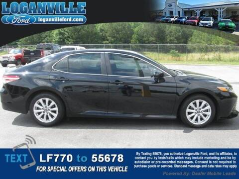 2019 Toyota Camry for sale at Loganville Quick Lane and Tire Center in Loganville GA