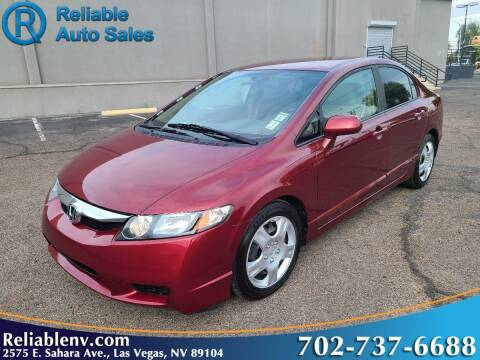 2010 Honda Civic for sale at Reliable Auto Sales in Las Vegas NV