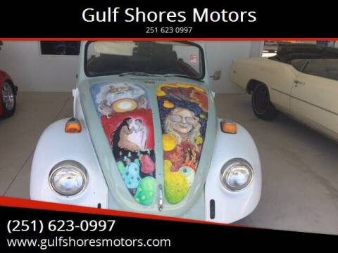 1969 Volkswagen Beetle for sale at Gulf Shores Motors in Gulf Shores AL