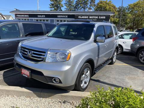 2015 Honda Pilot for sale at CLASSIC MOTOR CARS in West Allis WI