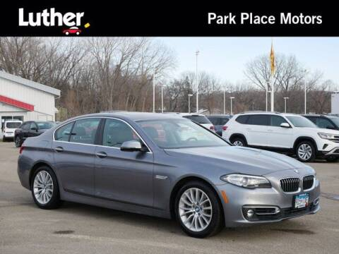 2015 BMW 5 Series for sale at Park Place Motor Cars in Rochester MN