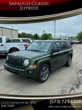 2009 Jeep Patriot for sale at Sapaugh Classic Joyride in Salem MO