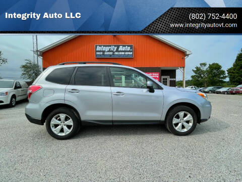 2016 Subaru Forester for sale at Integrity Auto LLC - Integrity Auto 2.0 in St. Albans VT