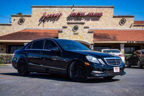 2012 Mercedes-Benz E-Class for sale at Jerrys Auto Sales in San Benito TX