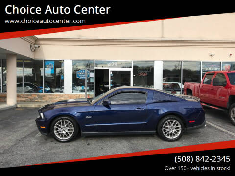 2012 Ford Mustang for sale at Choice Auto Center in Shrewsbury MA