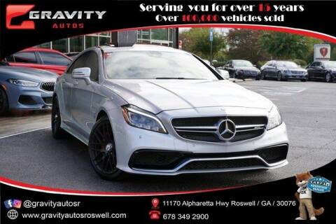 2016 Mercedes-Benz CLS for sale at Gravity Autos Roswell in Roswell GA
