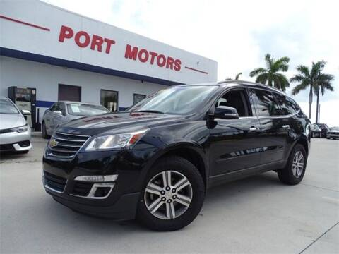 2017 Chevrolet Traverse for sale at Automotive Credit Union Services in West Palm Beach FL