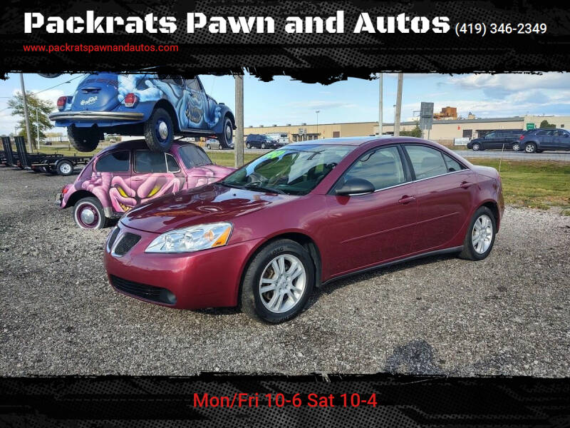 2005 Pontiac G6 for sale at Packrats Pawn and Autos in Defiance OH