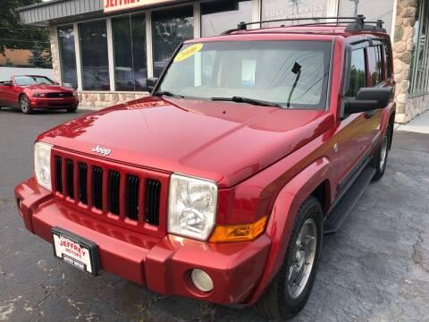 2006 Jeep Commander for sale at Jeffrey Motors in Kenosha WI