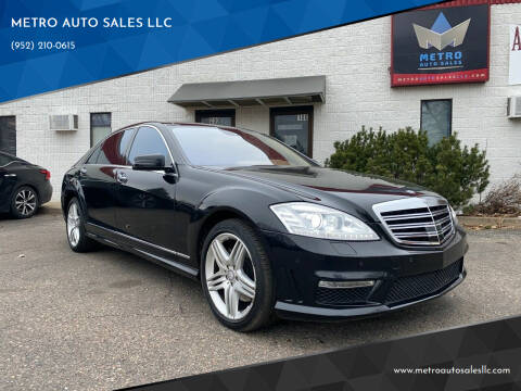 2013 Mercedes-Benz S-Class for sale at METRO AUTO SALES LLC in Blaine MN