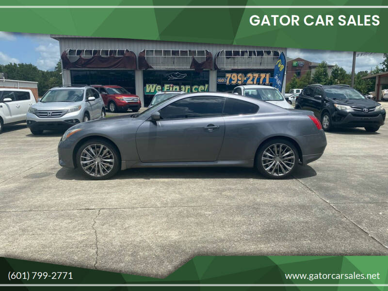 2014 Infiniti Q60 Coupe for sale at Gator Car Sales in Picayune MS