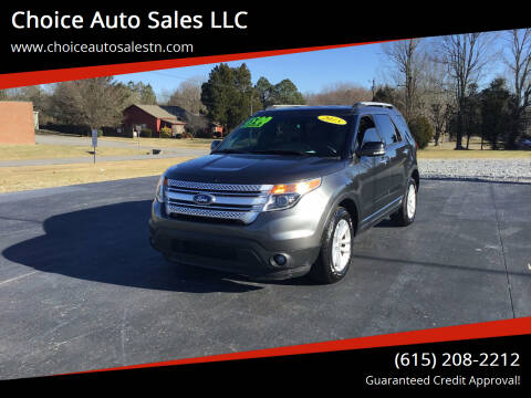 2015 Ford Explorer for sale at Choice Auto Sales LLC - Cash Inventory in White House TN