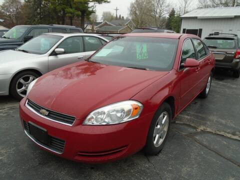 2007 Chevrolet Impala for sale at NORTHLAND AUTO SALES in Dale WI