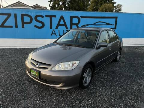 2005 Honda Civic for sale at Zipstar Auto Sales in Lynnwood WA