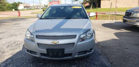 2012 Chevrolet Malibu for sale at Anthony's Auto Sales of Texas, LLC in La Porte TX